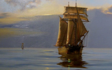 Idle Sails by James Brereton