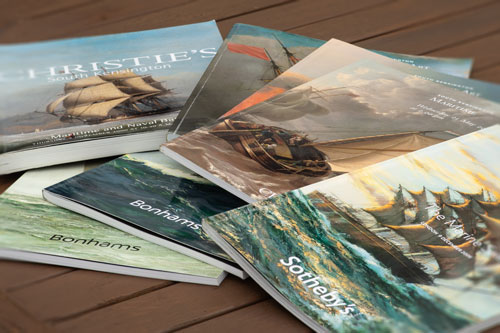 Marine Painting auction catalogues