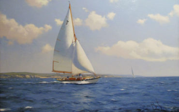 A Summer Breeze by James Brereton. Oil on board. 20 x 30 inches. Haynes Fine Art.
