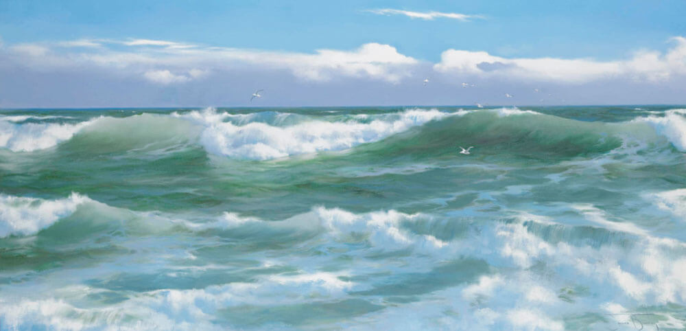 Cornish Breakers by James Brereton.