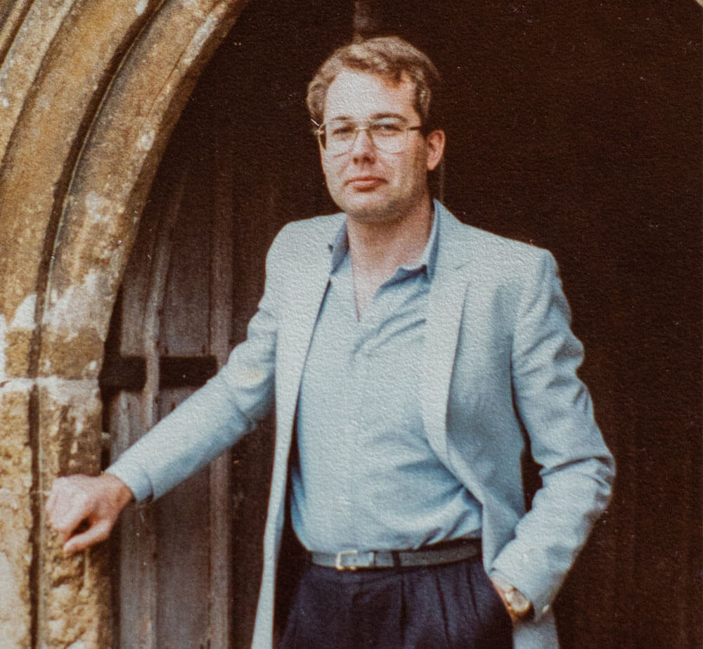 James Brereton as a young painter