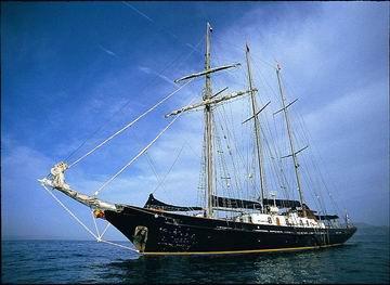 Sir Winston Churchill schooner